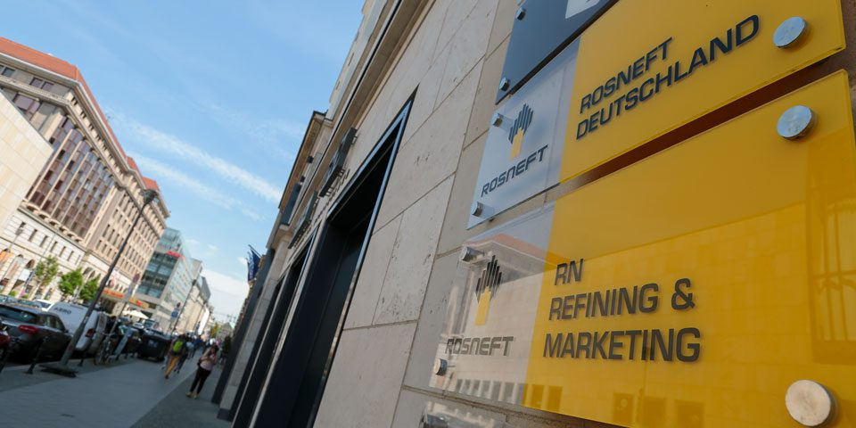 Office opening Rosneft Deutschland