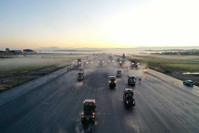 Bitumen Straßenbau
